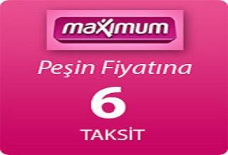 MAXİMUM KARTA 6 TAKSİT